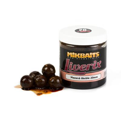 Mikbaits boilie v dipu LiveriX 250 ml - 1