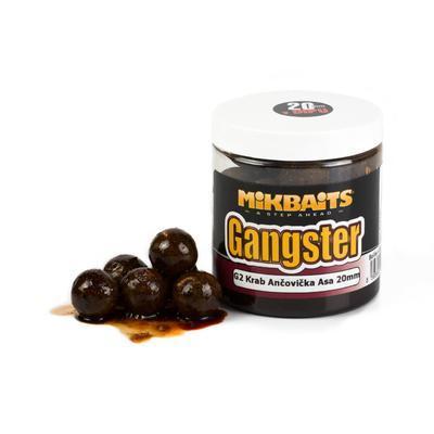 Mikbaits boilie v dipu Gangster 250 ml - 1