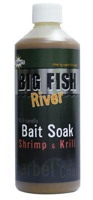 Dynamite Baits atraktant Big Fish River Bait Soak Shrimp & Krill (kreveta a krill) 500 ml (DY1378) - 1
