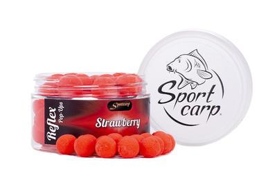 Sportcarp plovoucí boilies Reflex Strawberry (jahoda - červená) 11 mm - 1