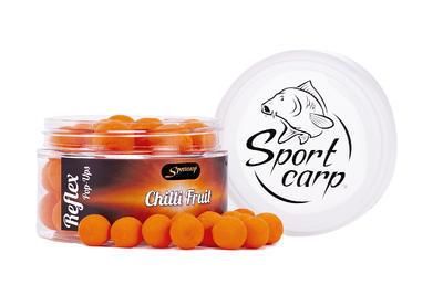 Sportcarp plovoucí boilies Reflex Chilli Fruit (kořeněné ovoce - oranžová) 11 mm - 1