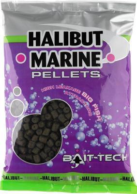 Bait-Tech pelety bez dírek Marine 900 g