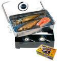 Behr mini udírna Stainless Steel Smoker Cooker (9943590) - 1/2