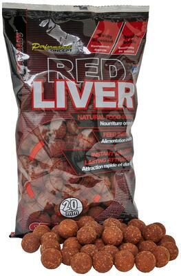 Starbaits boilies Red Liver - 1