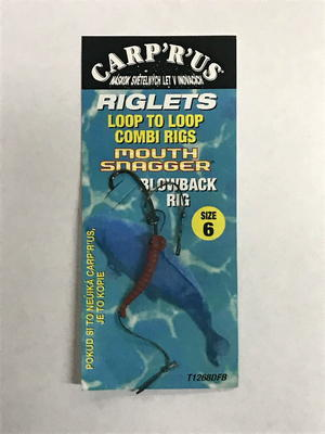 Carp R Us hotové návazce Loop To Loop Blowback Rig - 1