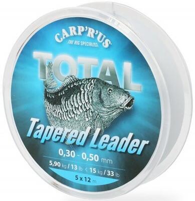 Carp R Us ujímané vlasce Tapered Leader - 1