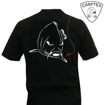 CarpTex tričko Angry Carp černé - 1