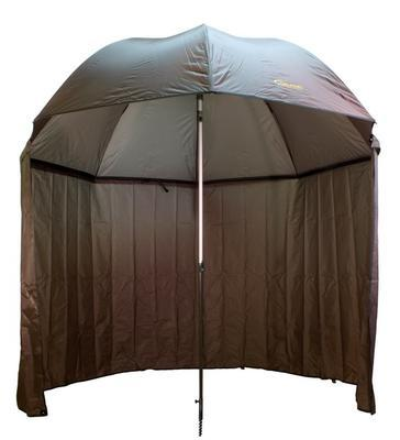 Delphin rybářský deštník s odepínatelnou bočnicí (435001ZEL) - 1