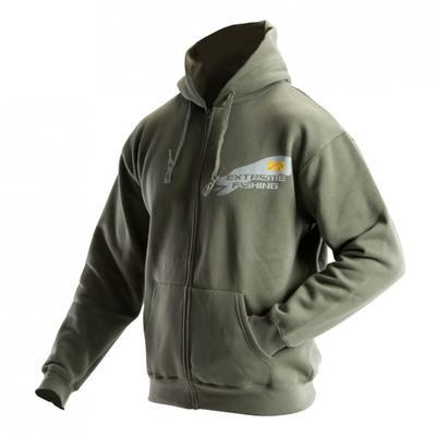 DOC mikina Evolution s kapucí khaki - 1