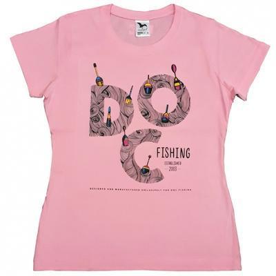 DOC triko dámské Splávky růžové - 1