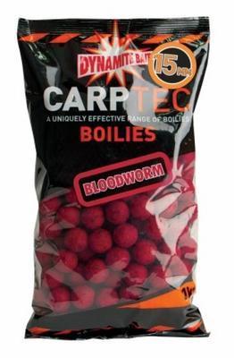 Dynamite Baits boilies CarpTec Boilies Bloodworm (žížala)