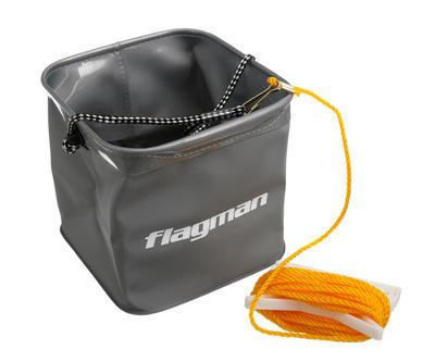 Flagman skládací kbelík se šňůrkou 18,5 x 18,5 x 18,5 cm (FSN0002) - 1