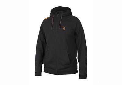 Fox mikina s kapucí Collection Orange & Black Lightweight Hoodie - 1