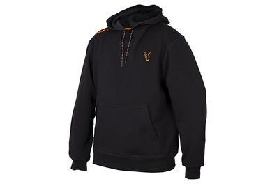 Fox mikina s kapucí Orange & Black Hoodie - 1
