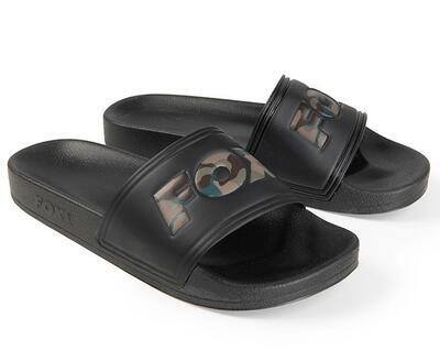 Fox pantofle Sliders Black - 1