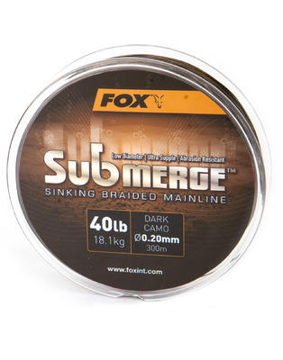 Fox šňůra na naviják Submerge Braided Mainline Dark Camo - 1
