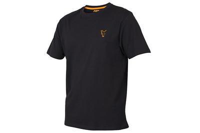 Fox tričko Black & Orange T - Shirt - 1