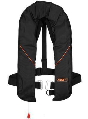 Fox záchranná vesta Life Jacket Black Orange (CIB040) - 1