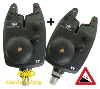 Giants Fishing hlásič Bite Alarm ST (12V Baterie) Akce 1 + 1! (G-10201/1+1)