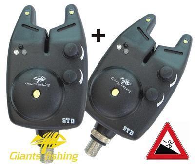 Giants Fishing hlásič Bite Alarm STD (12V Baterie) Akce 1 + 1! (G-10203/1+1)