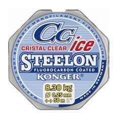 Konger Fluorocarbon Ice Steelon Cristal clear 50 m
