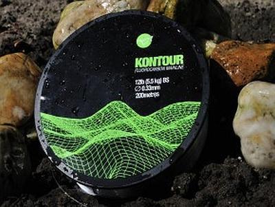 Korda fluorocarbonový vlasec Kontour 12 lb (KFC12) - 1