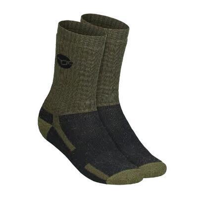 Korda merino ponožky Kore Merino Wool Sock Black vel. 42-46 (KCL321) - 1