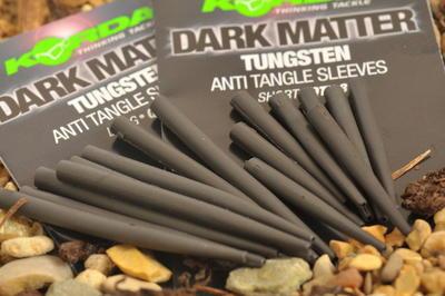 Korda tungstenové převleky proti zamotání Dark Matter Anti Tangle Sleeves - 1