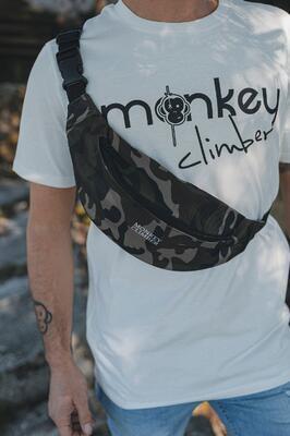 Monkey Climber ledvinka Bum Bag Camo - 1