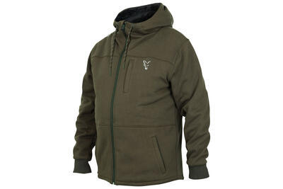 Fox mikina s kapucí Collection Green/Silver Sherpa Hoodie - 1
