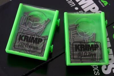 Korda náhradní svorky Krimps 0,7 mm (KSK07) - 1