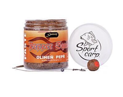 Sportcarp obalovací pasta Boilie Paste Pepper Squid