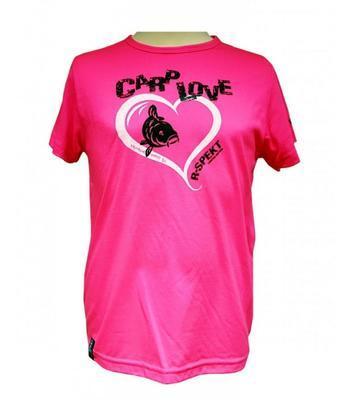 R-Spekt dětské tričko Carp Love fluo pink - 1