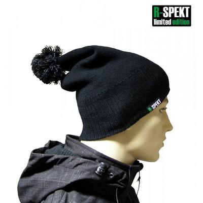 R-Spekt kulich PomPom Duo Beanie Style černý (76049) - 1