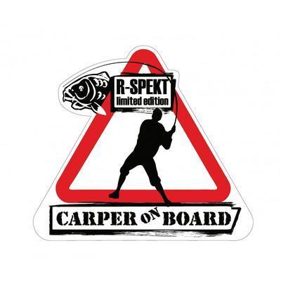 R-Spekt samolepka Carper On Board (76091) - 1
