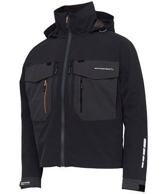Savage Gear bunda SG6 Wading Jacket Black Grey - 1