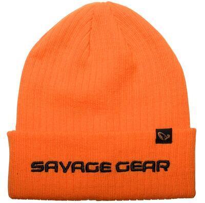 Savage Gear čepice Fold Up Beanie Sun Orange (73742)