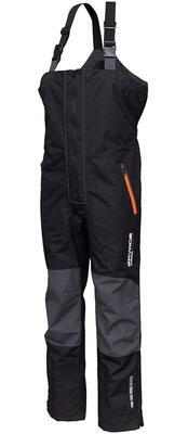 Savage Gear kalhoty WP Performance Bib Brace Black Grey - 1