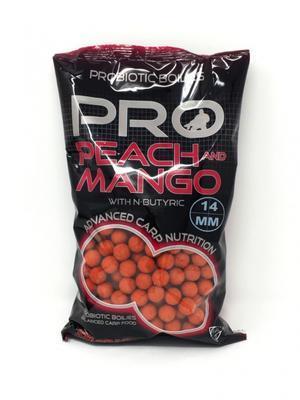 Starbaits boilies Peach & Mango