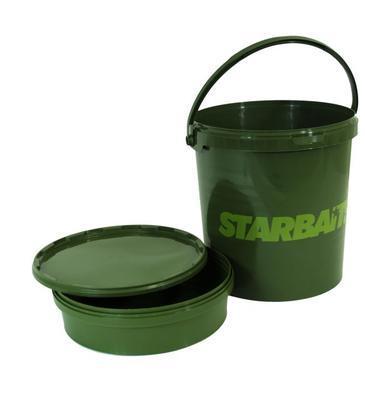 Starbaits kbelík Bucket 21 L (kbelík + vanička + víko) (06125) - 1