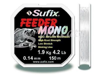 Sufix vlasec Feeder Mono 150 m v blistru