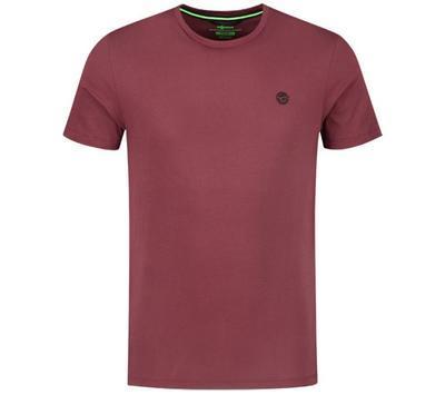 Korda tričko Le Scaley Tee Burgundy BLK Print - 1