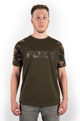Fox tričko Camo/Khaki Chest Print T-Shirt vel. M (CFX014) - 1