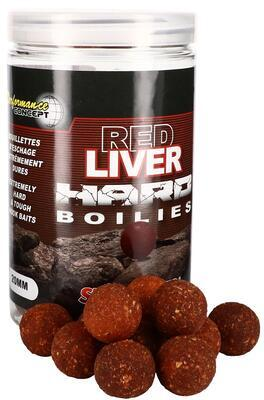 Starbaits tvrzené boilies Red Liver Hard Boilies - 1