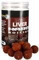 Starbaits tvrzené boilies Red Liver Hard Boilies - 1/2