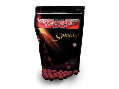 Sportcarp tvrzené boilies Mulberry Garlic Hard Ons 20 mm 1 kg - 1