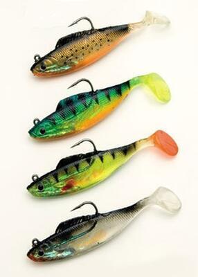 Behr gumové rybky Soft-Bait 6 cm, 10 g - 1