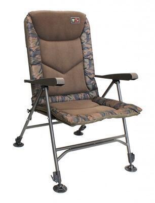 Zfish rybářské křeslo Deluxe Camo Chair (ZF-1792) - 1