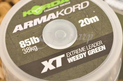 Korda návazcová šňůrka Armakord XT 85 lb 38 kg (ARMK85) - 2