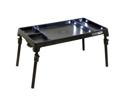 CarpPro stolek s osvětlením LED Bivvy Table (CPW001) - 2